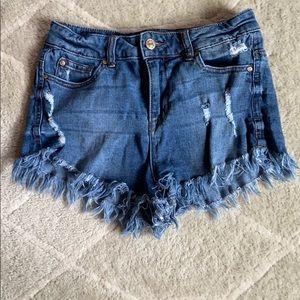 Celebrity Pink High Waisted Shorts